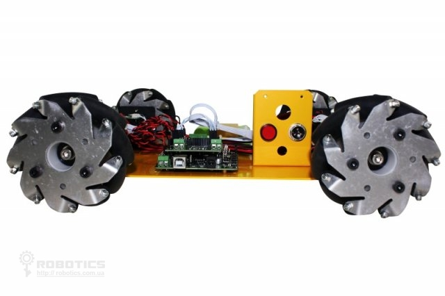 Mecanum Wheel Robot Kit with Orion and Handle - arduino
